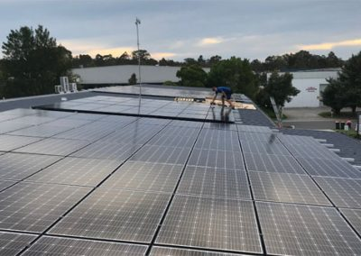 Commercial Solar Installation Tuggerah Business Park 46.8W