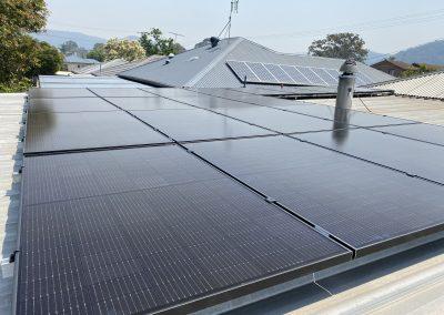 Residential Solar installation 6.3kW Woy Woy